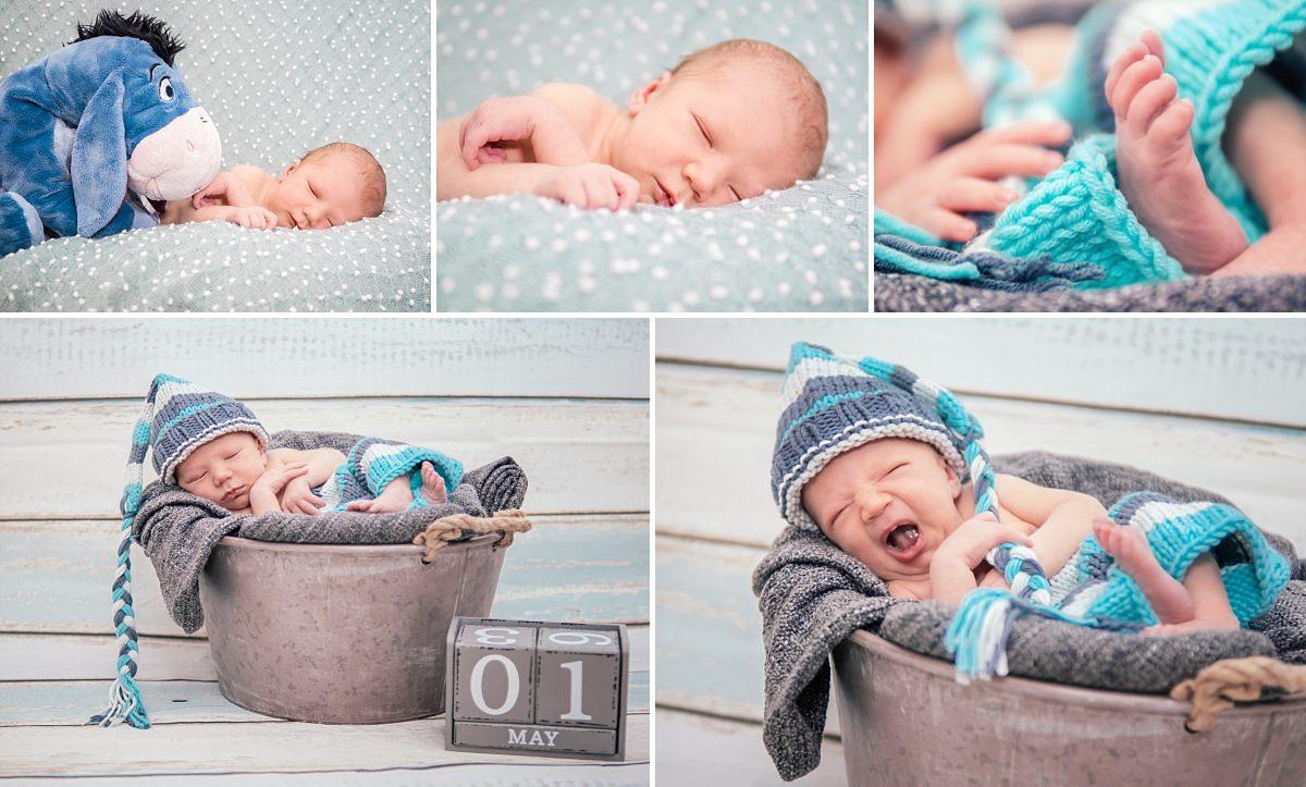 Babyfotos Dresden Newbornfotos Baby schläft